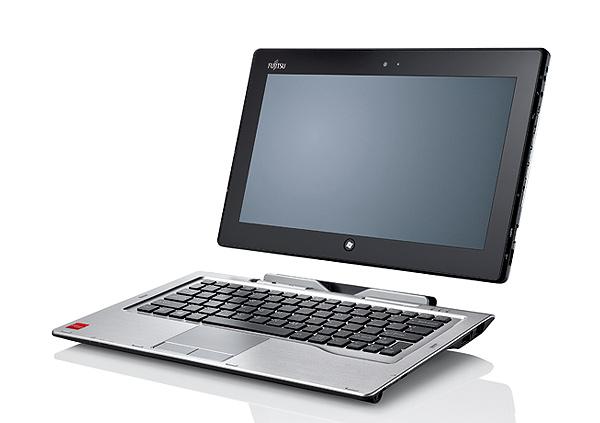 Hem tablet hem dizüstü Fujitsu Stylistic Q702