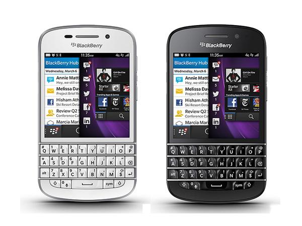BlackBerry Q10 akıllı telefon