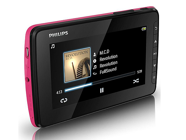 Philips GoGear Video MP4 medya oynatıcı