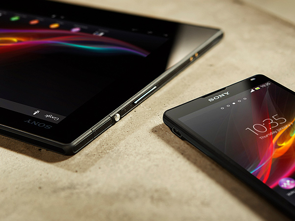 Xperia Z Android tablet