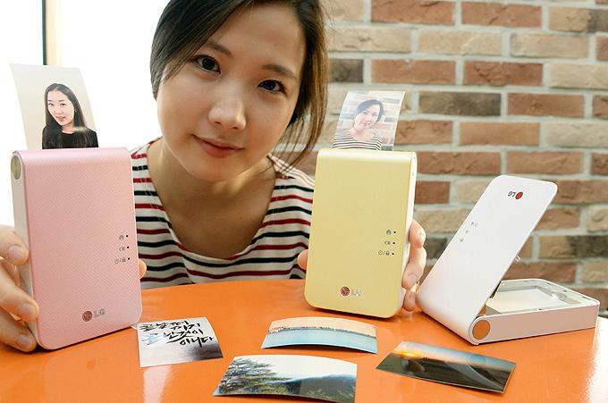 LG Pocket Photo mobil yazıcı