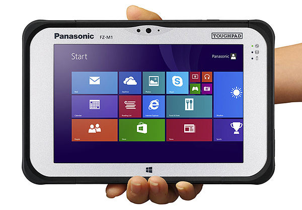 Panasonic Toughpad tablet