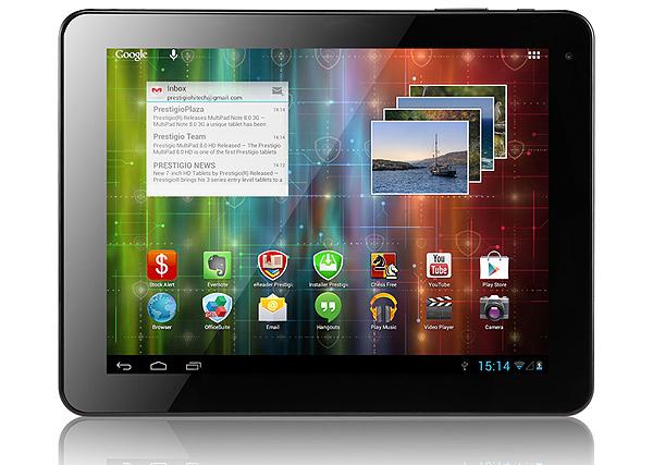 Prestigio Android tabletler