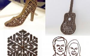 Çikolata ile baskı yapan 3D yazıcı Türkiye'de
