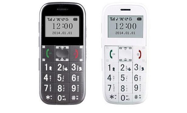 Concox yaşlılar için cep telefonu