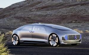 Mercedes F 015 geleceğin sürücüsüz otomobili