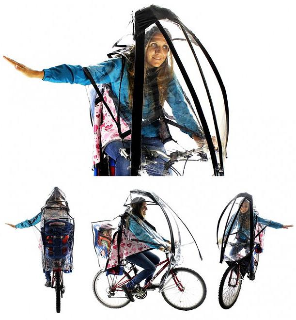 bisiklet şemsiyesi