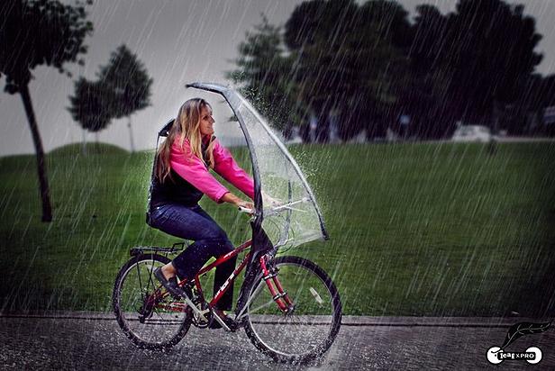 LeafxPro bisiklet şemsiyesi