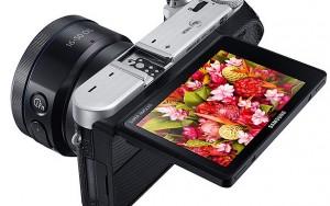 Samsung NX500 aynasız dijital fotoğraf makinesi
