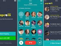 LINE Popcorn Buzz uygulaması ile 200 kişi aynı anda ücretsiz görüşebilecek