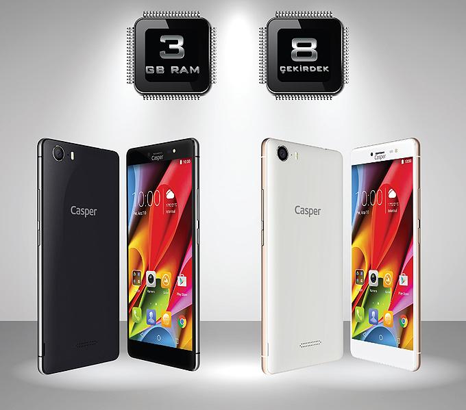 Casper VIA M1 akıllı cep telefonu   DigitAlem