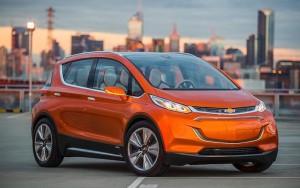Chevrolet Bolt elektrikli otomobil