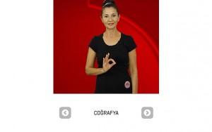 İşaret dili eğitim uygulaması