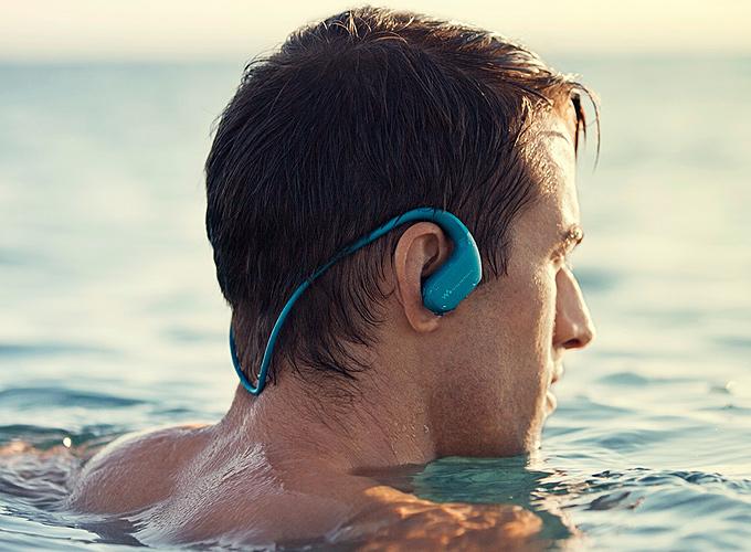 Deniz suyuna dayanıklı walkman