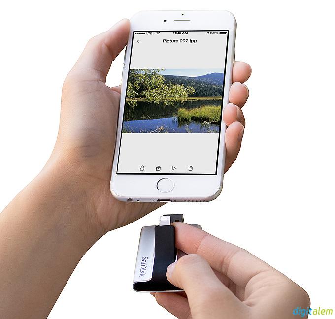 SanDisk iXpand ile iPhone ve iPad için ek depolama alanı