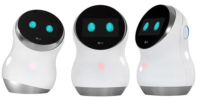 LG akıllı robotlar konuşuyor mesajlaşıyor temizlik yapıyor