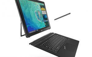 Acer Switch 7 Black Edition 2'si 1 arada dizüstü