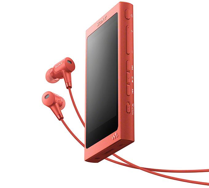 Yeni Sony NW-A40 serisi müzik çalar ve h.ear serisi kulaklıklar