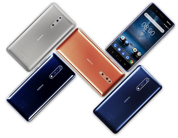 Nokia 8 satış fiyatı ve özellikleri