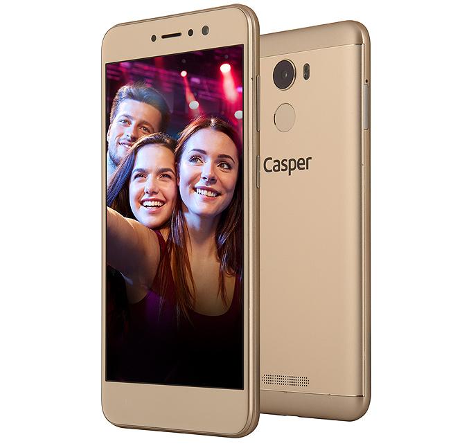 20 megapiksel ön kameralı Casper VIA P2 akıllı telefon