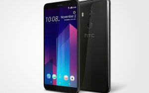 6 inç ekranlı ve uzun pil ömürlü HTC U11+ akıllı telefon