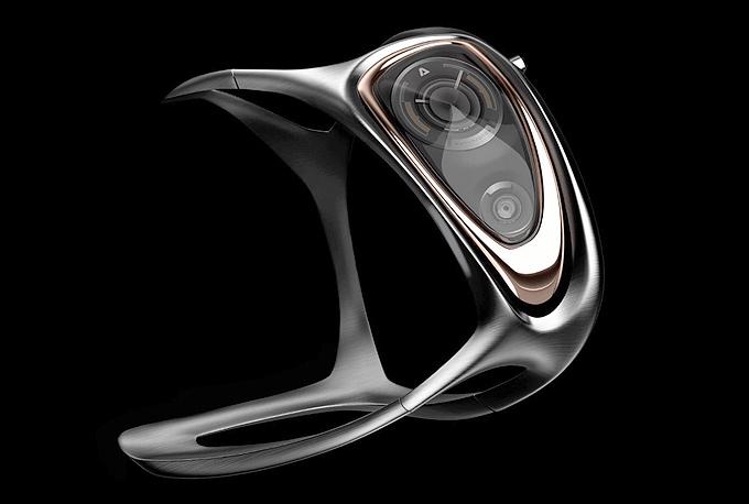 3D baskı ile kişiye özel kol saatleri