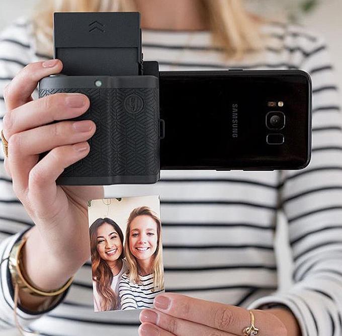 Android cep telefonundan Polaroid tarzı anında baskı