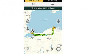 Yandex ile internet olmadan çevrimdışı navigasyon