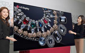 LG'den dünyanın ilk 88 inç 8K OLED ekranı