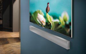 Samsung'tan duvara monte edilebilen soundbar