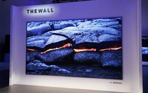 Samsung The Wall dünyanın ilk modüler 146-inç MicroLED TV'si