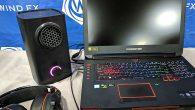 Bilgisayar ekranındaki atmosfere göre hava üfleyen cihaz