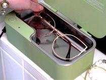 Gözlükler için ultrasonik temizlik