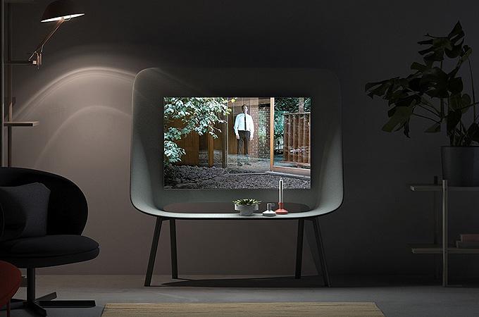 Doğadan esinlenilen televizyon seti