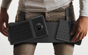 Indiana Jones tarzı ergonomik klavye