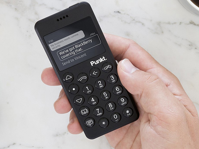 Punkt MP02 anti-akıllı telefon