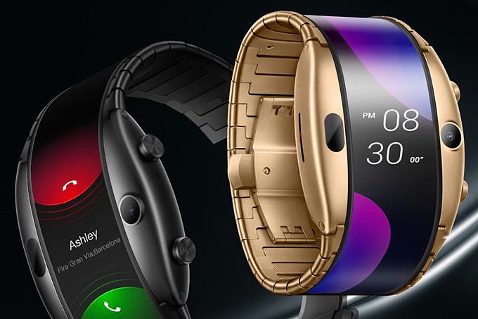 ZTE Nubia Alpha esnek ekranlı akıllı saat