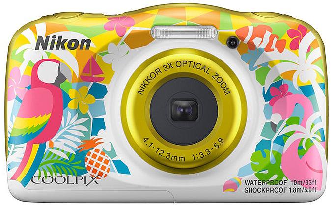Nikon'dan bol özellikli rengarenk fotoğraf makinesi