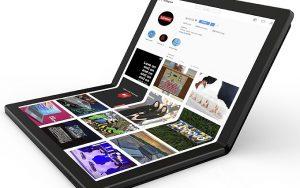 Lenovo katlanabilir ekranlı dizüstü bilgisayar