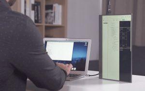 Laptop, telefon ve tabletleriniz için ultra ince harici ekran