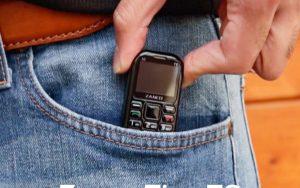 Dünyanın en küçük cep telefonu Zanco tiny t2