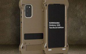 En zor koşulların telefonu Samsung Galaxy S20 Tactical Edition