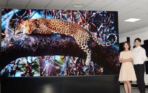 LG'den 4K çözünürlüklü 163 inç MicroLED TV