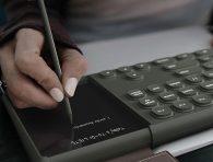 Kalem ile not alma özelliği sunan klavye