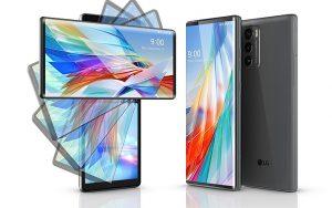 LG Wing esnek hareketli ikinci ekrana sahip akıllı telefon