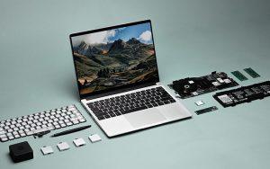 Modüler dizüstü bilgisayar