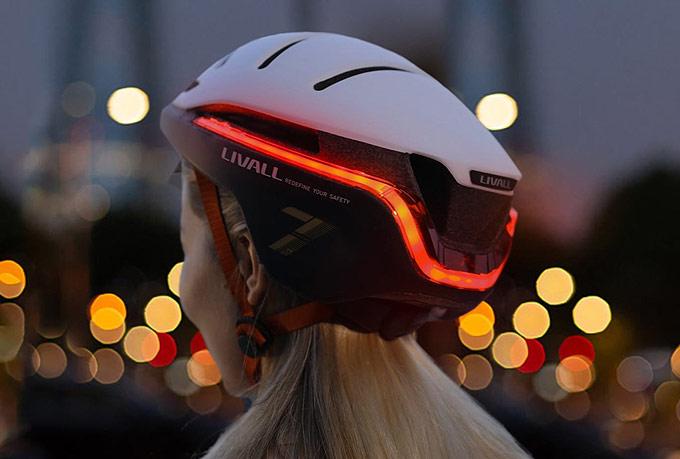Akıllı bisiklet kaskı