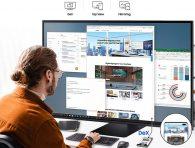 Samsung 4K akıllı monitör