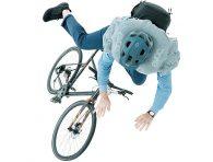 Bisikletçiler için hava yastığı
